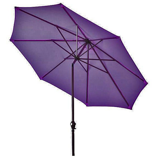 Aluminum Purple Patio Umbrella