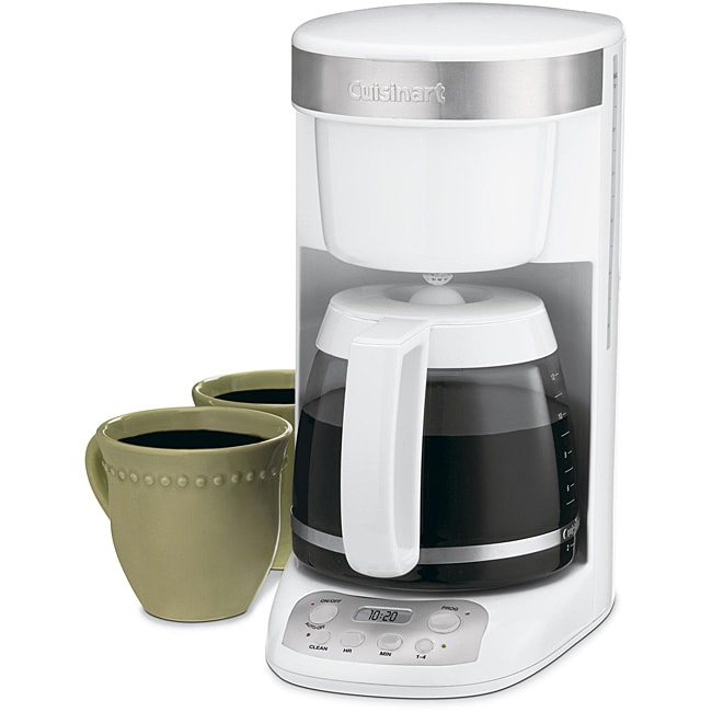 Cuisinart DCC-750 Flavor Brew 12-Cup White Coffeemaker