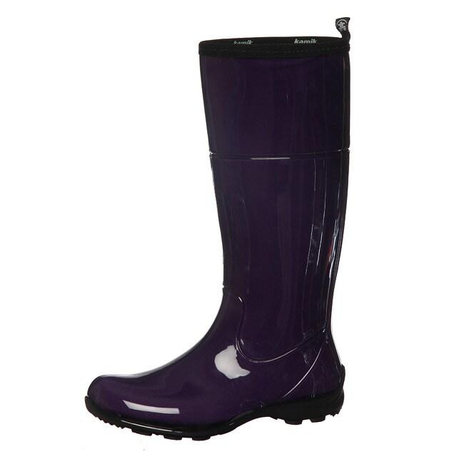 Lastest Kamik 9511 Womens Jenny Lo Rubber Waterproof Ankle Rain