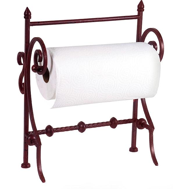 Provence Paper Towel Holder