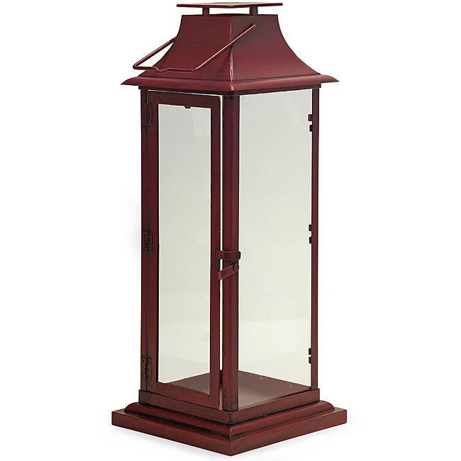 Regent Tall Red Teahouse Lantern