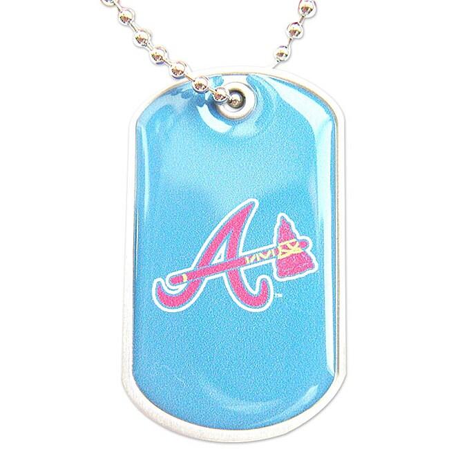 Atlanta Braves Dog Tag Necklace