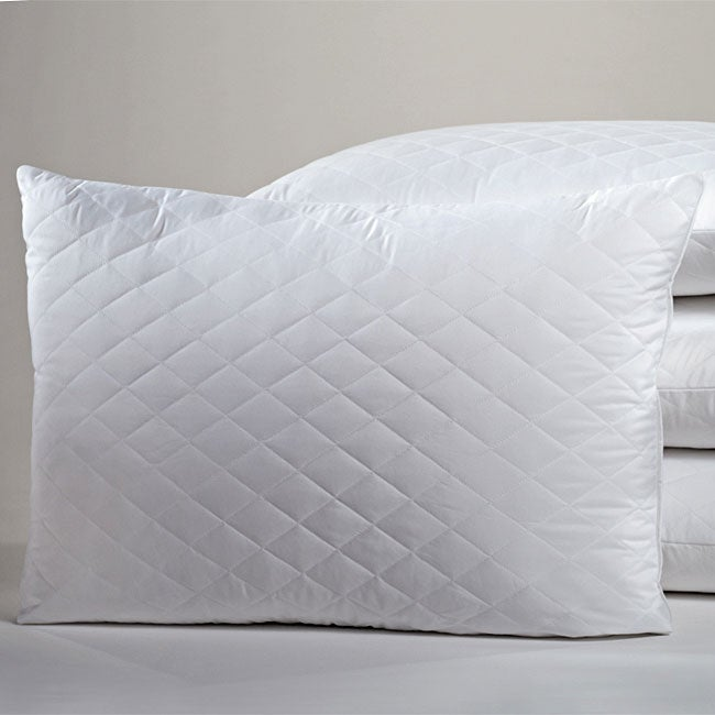Quilted Coolmax Jumbo-size Pillows (Set of 2)