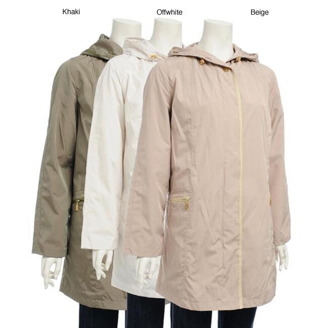 Women's Hooded Zip-front Jacket