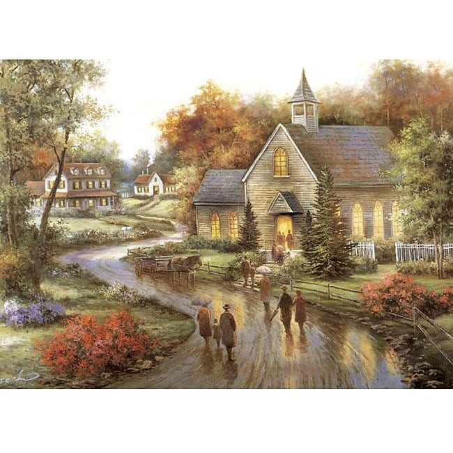 Autumn's Blessing 1500-piece 24 x 33 Jigsaw Puzzle