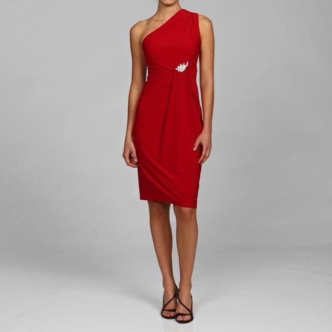 Marina Women's One-shoulder ITY Dress