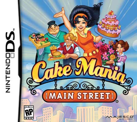 NinDS- Cake Mania 4 - By Majesco