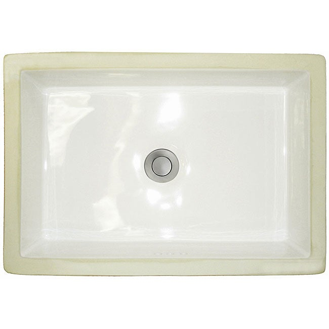 Shop Western Kiln White Vitreous China Trough Undermount