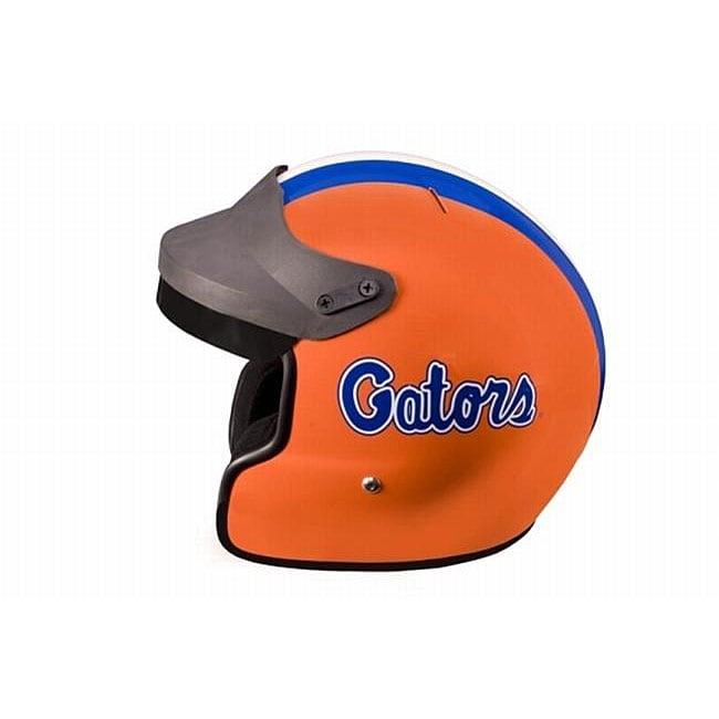DOT Florida Gators College Motorcycle Helmet
