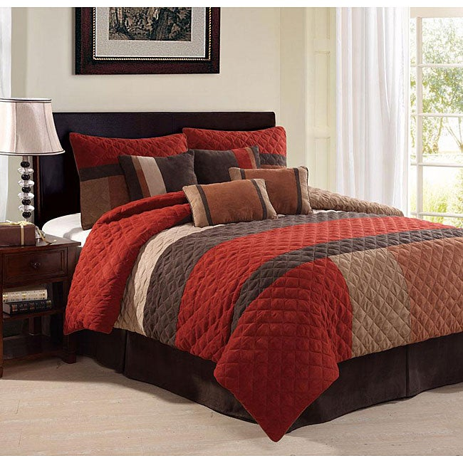 Kaska Spice 8-Piece Comforter Set