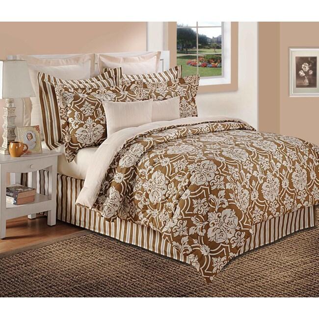 Isabella Clarke Luxury Cotton Medallion 6-Piece Comforter Set