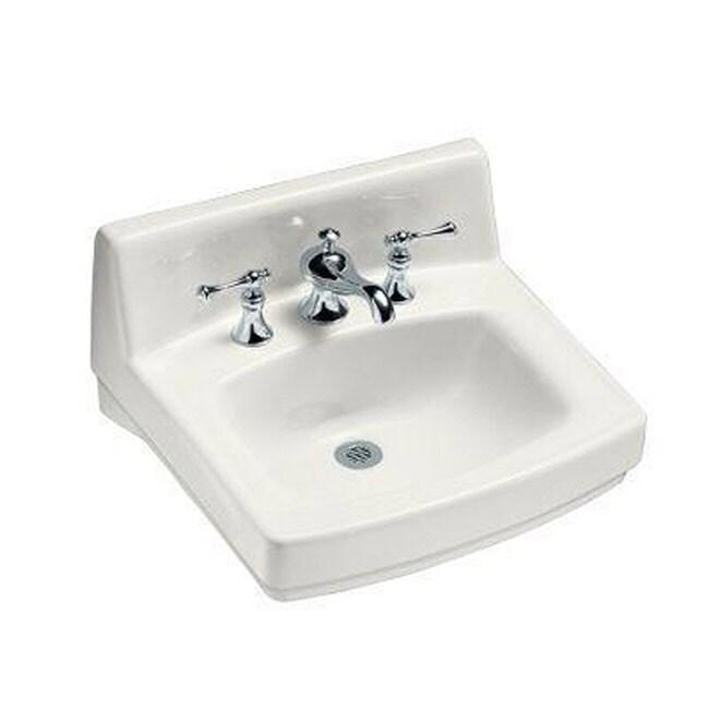 Kohler Greenwich White Wall-mount Single-hole Bathroom Sink