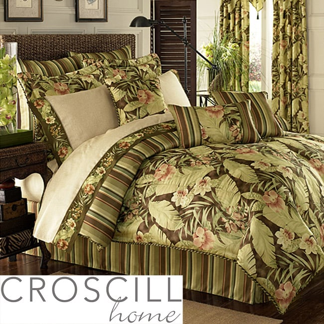 Croscill Brazil King-size 14-piece Bed in a Bag with Sheet Set
