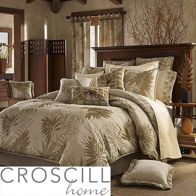 Croscill Grand Bahama Queen-size 10-piece Comforter Set