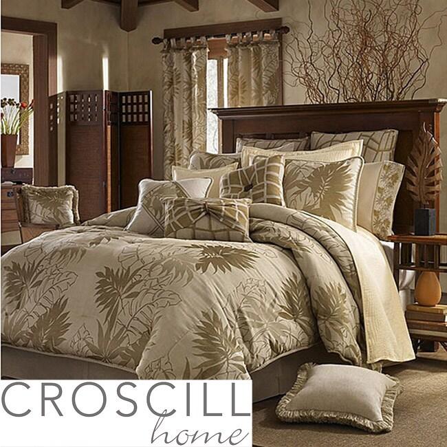 Croscill Grand Bahama California King-size 11-piece Comforter Set