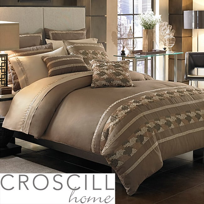 Croscill Mosaic Queen-size 11-piece Bed in a Bag with Sheet Set