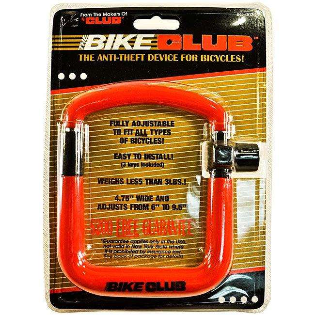 The Bike Club Bicycle Anti-Theft Device
