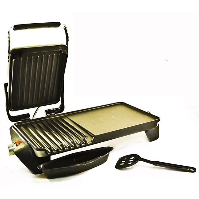 George Foreman Gf64g Side By Grill And Griddle Free Shipping Today 5202832