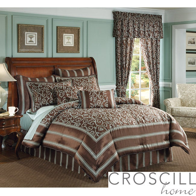 Croscill Yorkville California King-size Comforter Set
