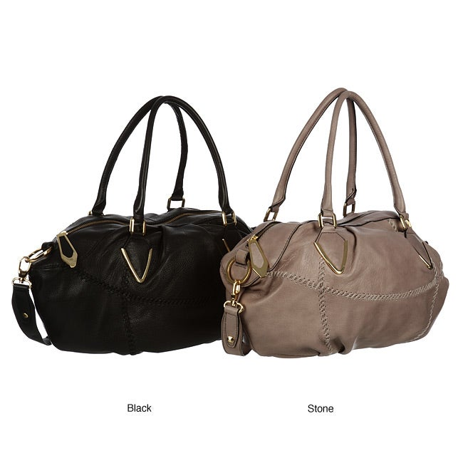 1c0155eb56d9 Shop Oryany Large Satchel Bag - Free Shipping Today - Overstock.com ...