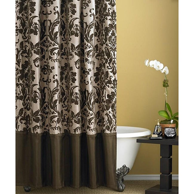 Lovely Nicole Miller Rosewood Shower Curtain