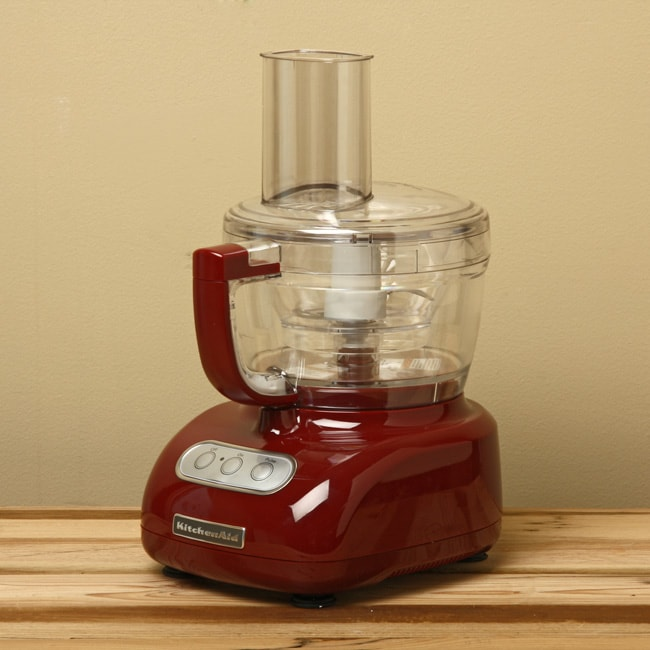 KitchenAid RKFPCU Food Processor with ExactSlice System 9-Cup, Contour Silver, (Certified Refurbished).