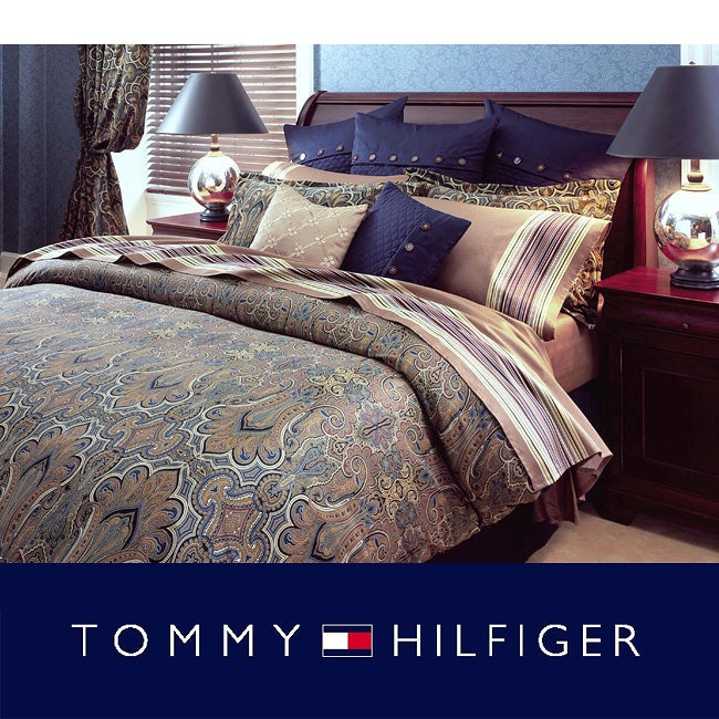 Tommy Hilfiger Beekman Place Queen-size Bed in a Bag with Sheet Set