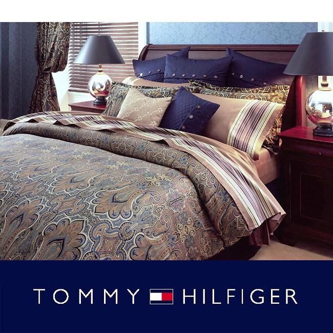 Tommy Hilfiger Beekman Place King-size Bed in a Bag with Sheet Set