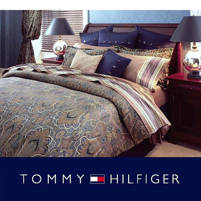 Tommy Hilfiger Beekman Place California King-size Bedding Ensemble with Sheet Set