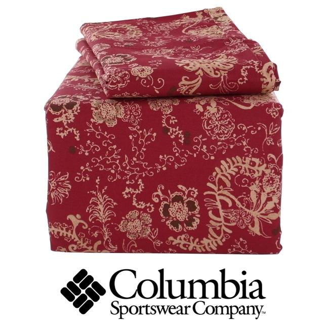 Columbia Tacoma 4-piece Queen-size Sheet Set