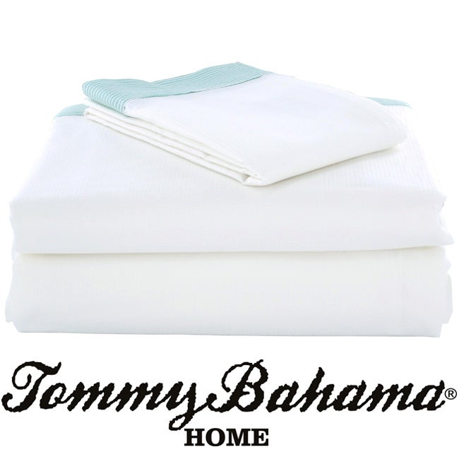Tommy Bahama Delaport Bay 4-piece California King-size Sheet Set