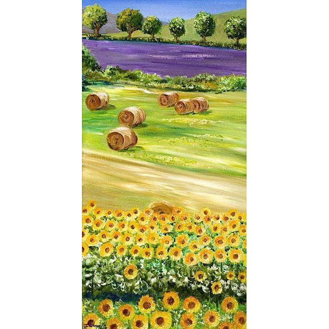 Isabelle Dupuy 'Fields of Colors' Canvas Art