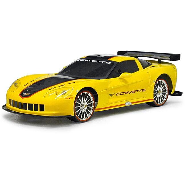 Remote Control 1:10-scale Full Function Yellow Corvette