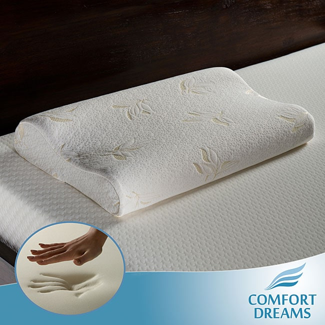 Comfort Dreams Premium 4-pound Density Memory Foam Contour Pillow