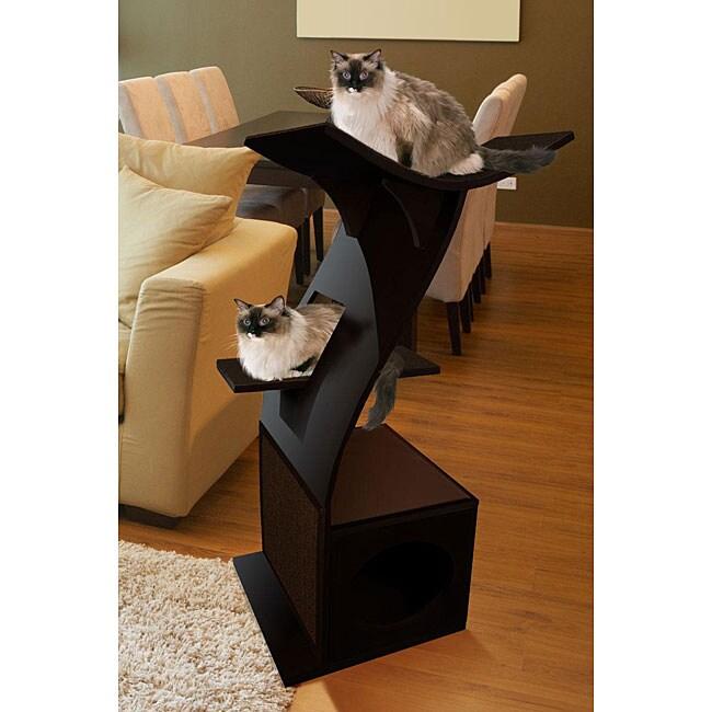 The Refined Feline Little Lotus Cat Condo Tower Free