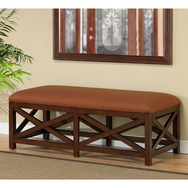 Vermont Cherry Wood Bench Free Shipping Today