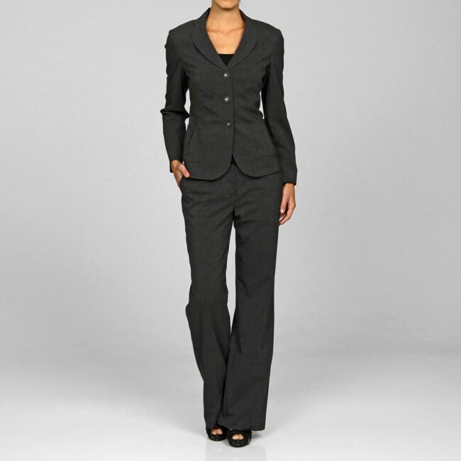 John Meyer Women S Charcoal Grey Pant Suit Free Shipping