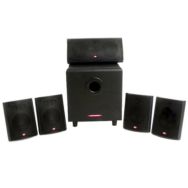 Cerwin-Vega Six-piece Home Theater Speaker System AVS-5.1