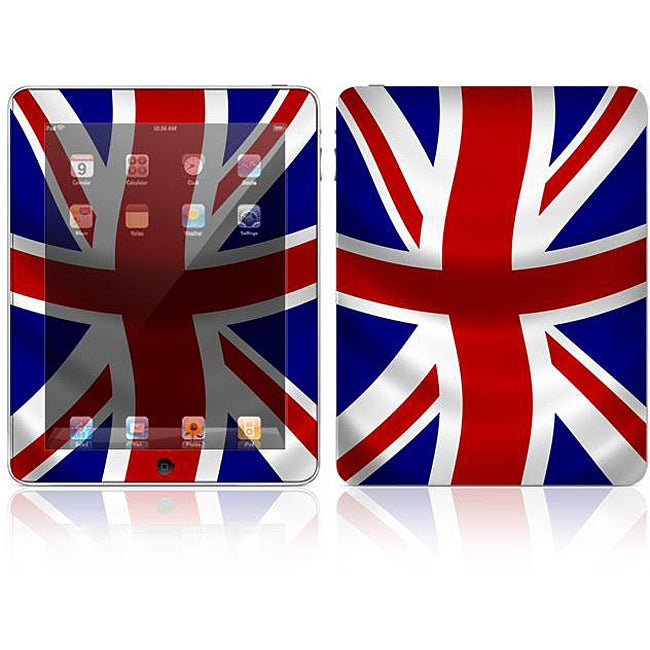 'UK Flag' Apple iPad Decal Skin
