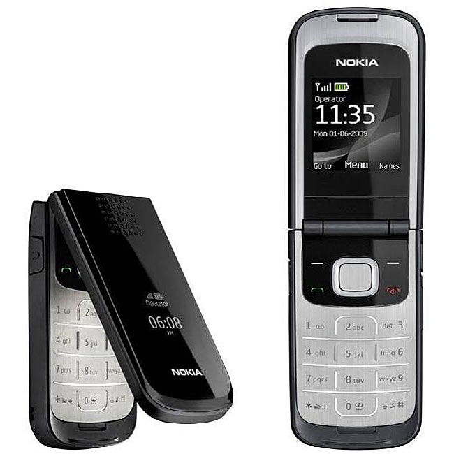 nokia 2720 fold black gsm unlocked cell phone free shipping today 13048591. Black Bedroom Furniture Sets. Home Design Ideas