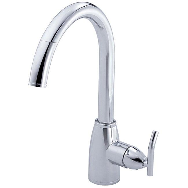 Danze Sonora Single-handle Pullout Chrome Kitchen Faucet