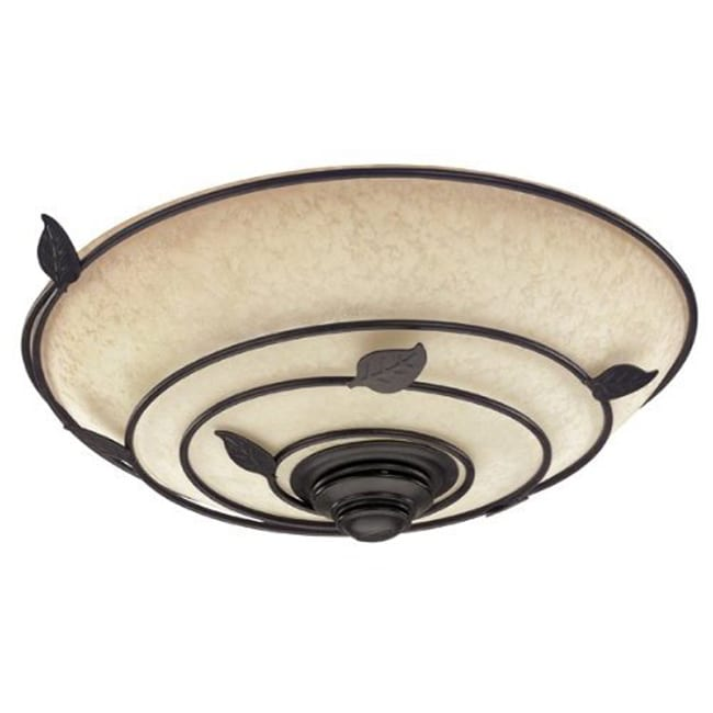 Hunter 82020 Fan Organic Brittany Bronze Bath Fan With