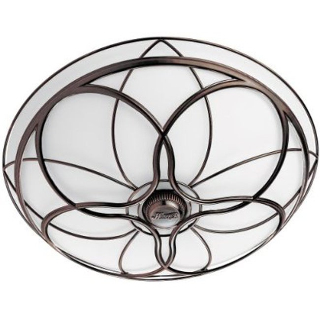 Decorative Bathroom Ceiling Lights : Hunter fan orleans imperial bronze bath with light