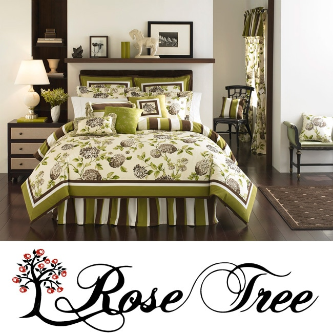 Rose Tree Belclaire California King-size Comforter Set