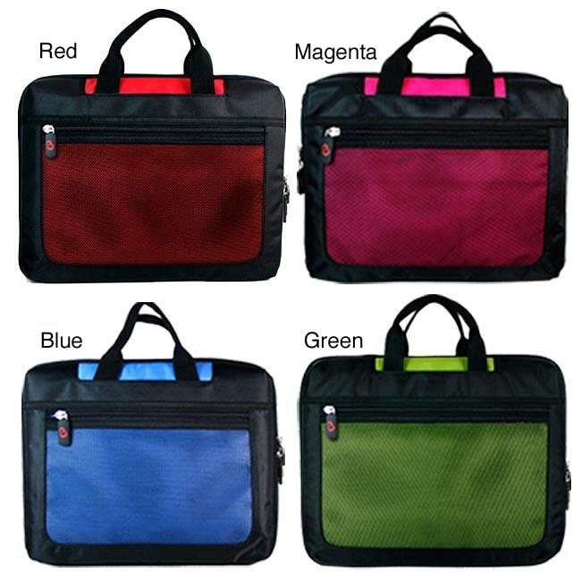 Kroo 15.6-inch Nylon Mesh Seal Laptop Case (15.6' x 10.7' x 2') - Thumbnail 0