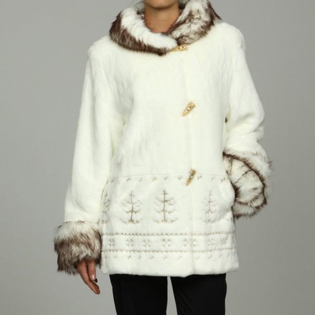 Nuage Women's Faux Fur Alaska Jacket