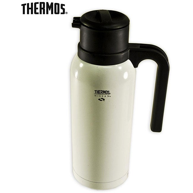 Thermos Nissan 32oz/0.94L White Steel CarafeThermos Nissan