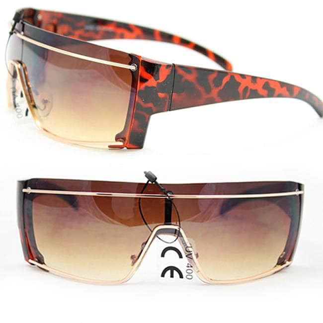 Women's F1535 Leopard Fashion Sunglasses