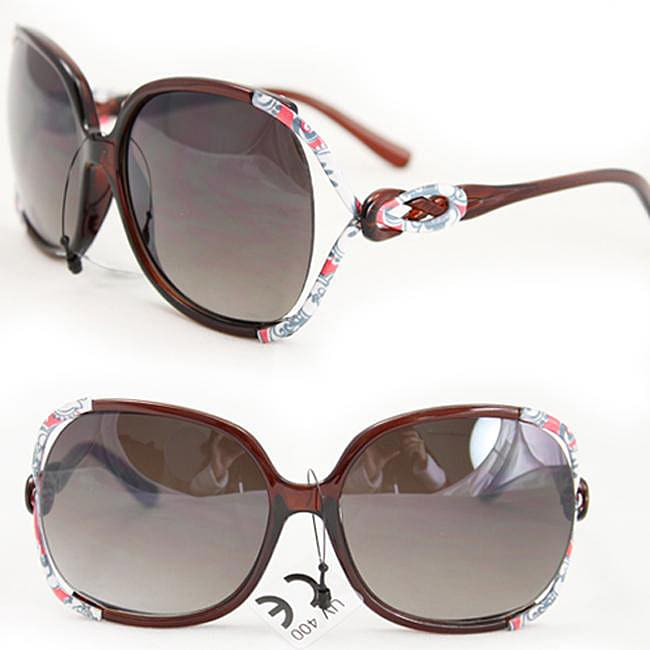 Women's P1863 Brown Fashion Sunglasses