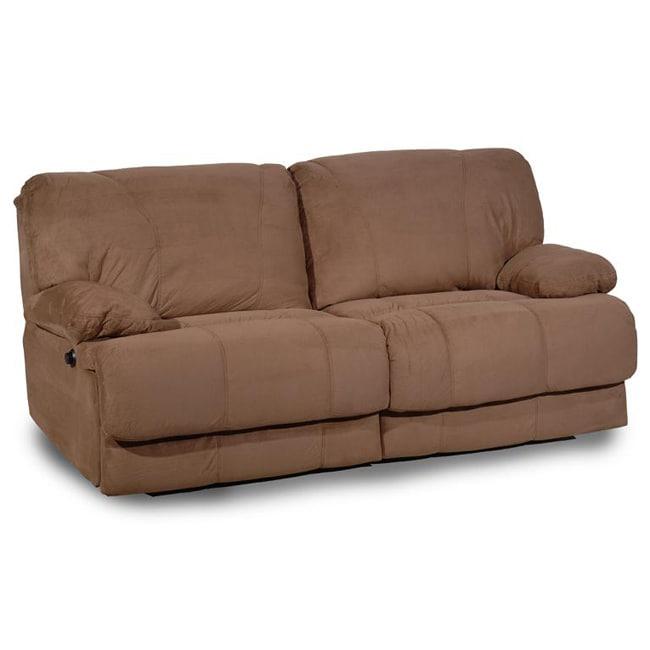 Power Reclining Microfiber Sofa